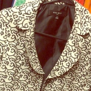 Nine West jacket. 3/4 sleeves